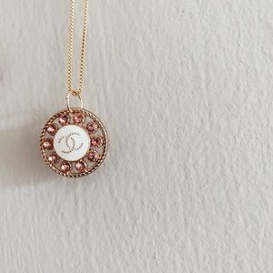 Authentic Chanel charm necklace